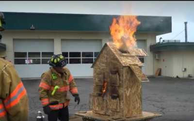 Excellent example of Reality Based demonstration and lesson presentation by a member of the Fire Service