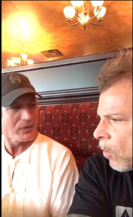 An interesting lunchtime discussion between Ken Murray and Tony Blauer